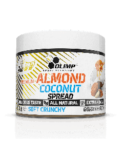 Almond Coconut Spread - 300 g - Olimp Laboratories