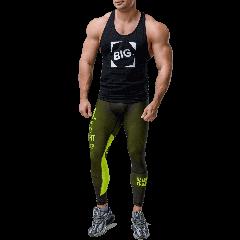 Männer Workout Leggins Olimp Team - Olimp Laboratories