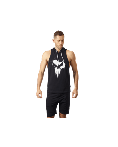 MEN'S HOODIE STRINGER CLASSIC SKULL - Olimp Laboratories