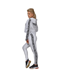 QUEENS GANG – WOMEN'S PANTS INNOCENT WHITE - Olimp Laboratories