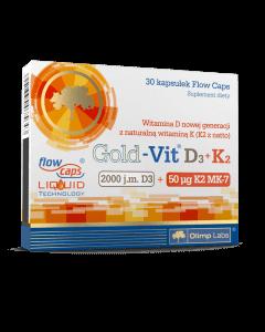 Gold-Vit D3+K2 - 30 kapsułek - Olimp Laboratories