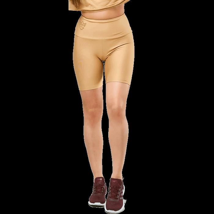 High Waist Leggings Short Women`s Warm Sand KJlF1Tc3