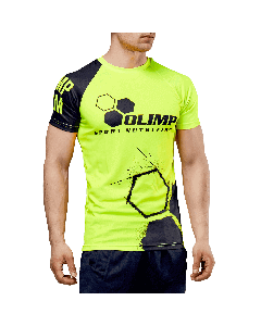 MĘSKA KOSZULKA SPORTOWA - MEN'S T-SHIRT ACTIVE OLIMP CREW NEON SERIES - Olimp Laboratories