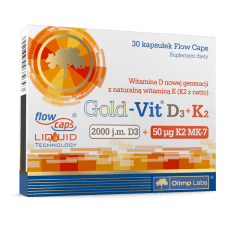 Gold-Vit D3+K2 - 30 kapsułek - Olimp Laboratories