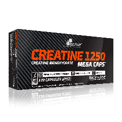 Creatine 1250 Mega Caps - 120 kapsułek - Olimp Laboratories