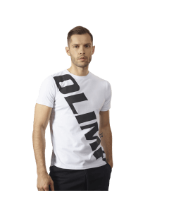 MEN'S T-SHIRT SASH WHITE - Olimp Laboratories