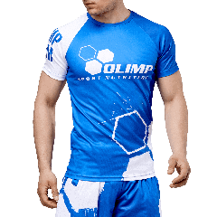 MEN`S T SHIRT Reglan OLIMP CREW BLUE SERIES - Olimp Laboratories