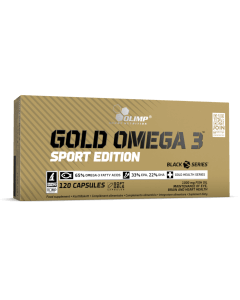 GOLD OMEGA 3 SPORT EDITION - 120 gélules - Olimp Laboratories