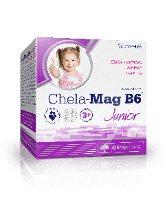 Chela-Mag B6 Junior pomarańczowy - 15 saszetek - Olimp Laboratories