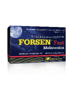 Forsen Fast Melatonina - 30 tabletek - Olimp Laboratories