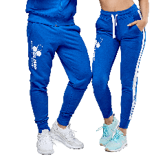 OLIMP TEAM PANTS BLUE UNISEX - Olimp Laboratories