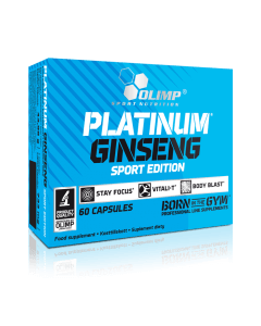 PLATINUM GINSENG 550 SPORT EDITION - 60 gélules - Olimp Laboratories