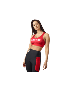 STANIK SPORTOWY OLIMP - WOMEN'S SPORTS BRA RED - Olimp Laboratories