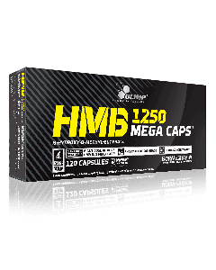 HMB Mega Caps - 120 Capsules - Olimp Laboratories