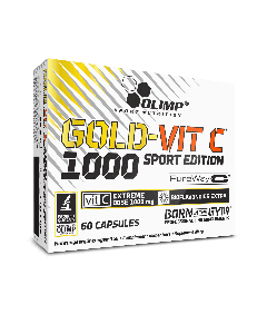 GOLD-VIT C 1000 Sport Edition - 60 gélules - Olimp Laboratories
