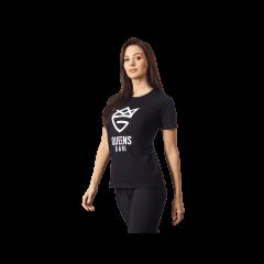 DAMSKA KOSZULKA OLIMP – WOMEN'S T-SHIRT PURE BLACK - Olimp Laboratories