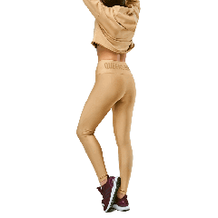 WOMEN`S LEGGINGS HIGH WAIST WARM SAND - Olimp Laboratories