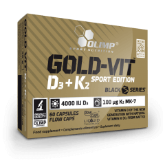 Gold-Vit D3+K2 SPORT EDITION
