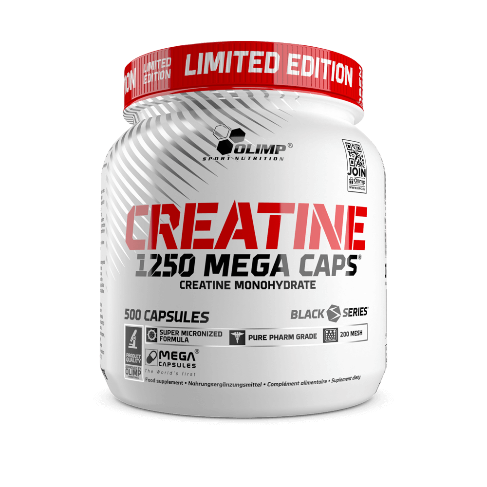 Creatine 1250 Mega Caps Limited Edition
