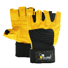 HARDCORE RAPTOR GLOVES YELLOW - Olimp Laboratories