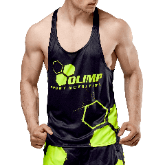Men`s TANK TOP OLIMP CREW BLACK SERIES - Olimp Laboratories