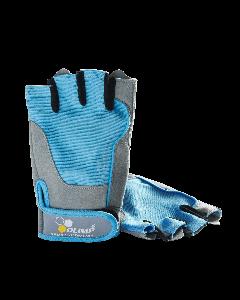 Rękawice treningowe - FITNESS ONE niebieskie