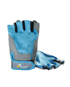 TRAINING GLOVES FITNESS ONE blue - Olimp Laboratories