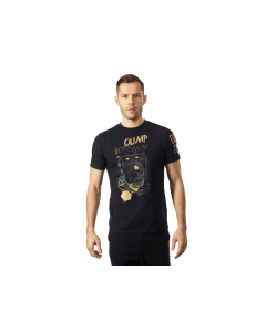 MĘSKA KOSZULKA OLIMP – MEN'S T-SHIRT WILD BLACK & GOLD - Olimp Laboratories