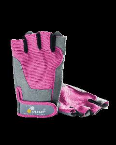 Rękawice treningowe - FITNESS ONE różowe