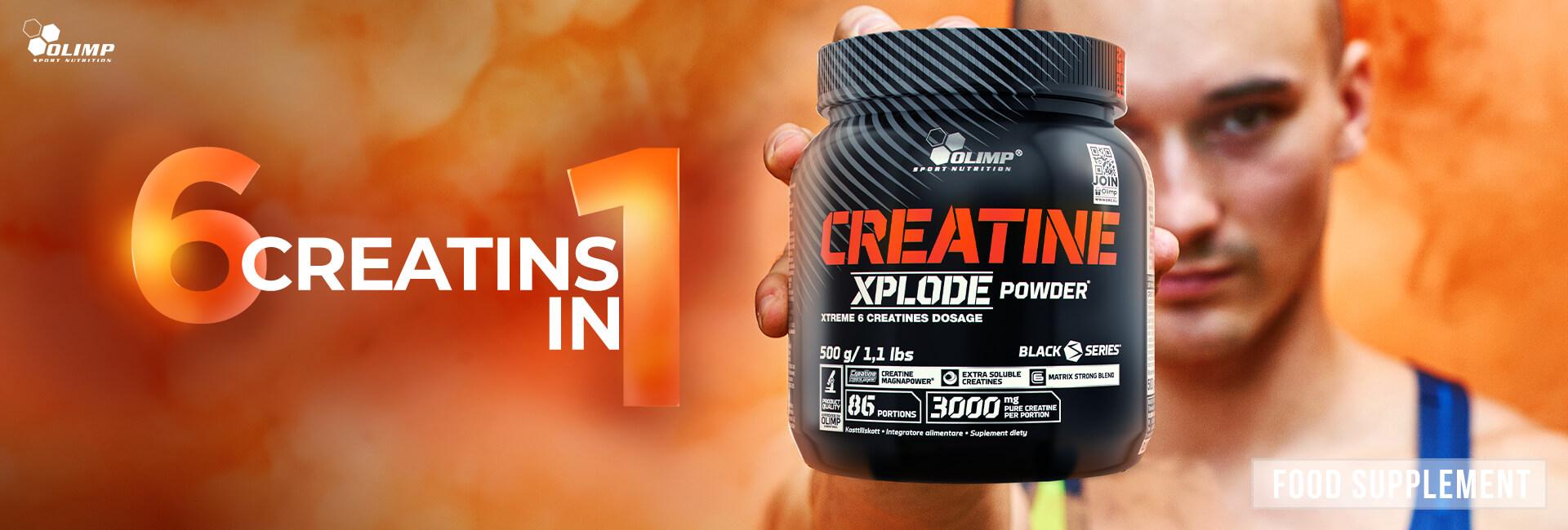 Creatine Xplode Powder