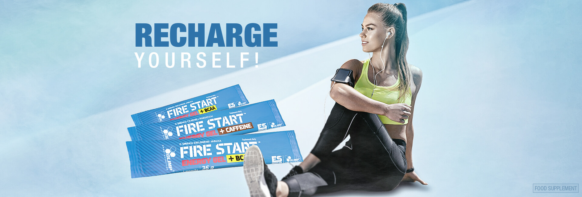 Fire Start Energy Gel