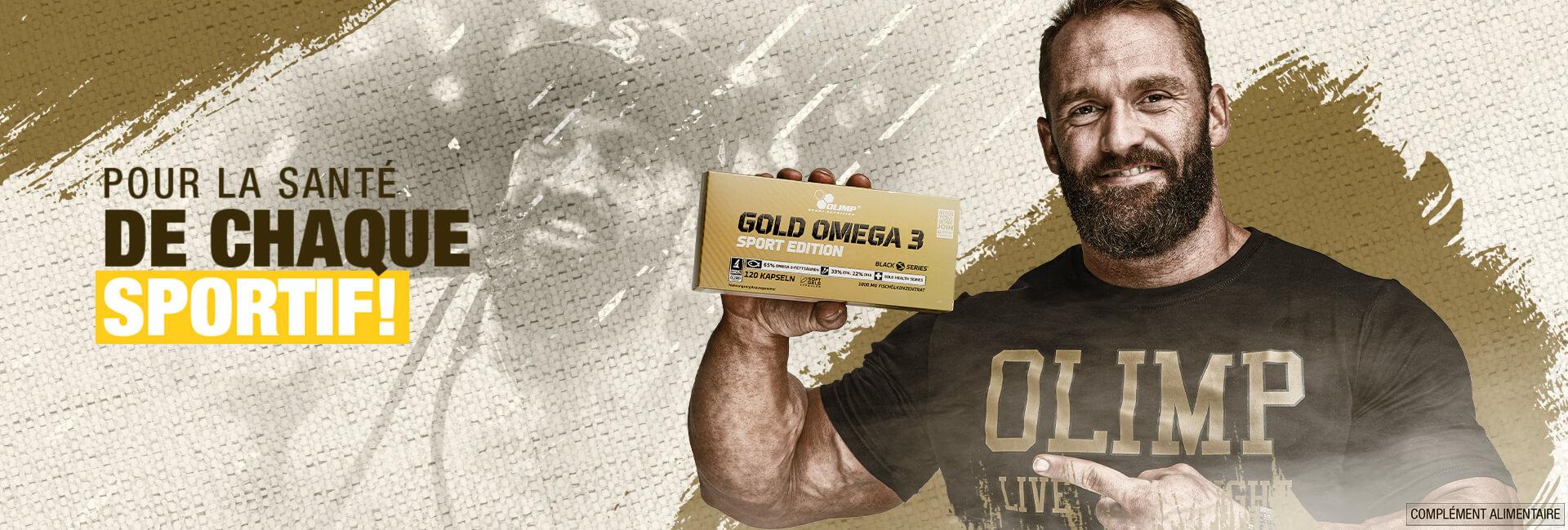 Gold Omega 3 Sport Edition