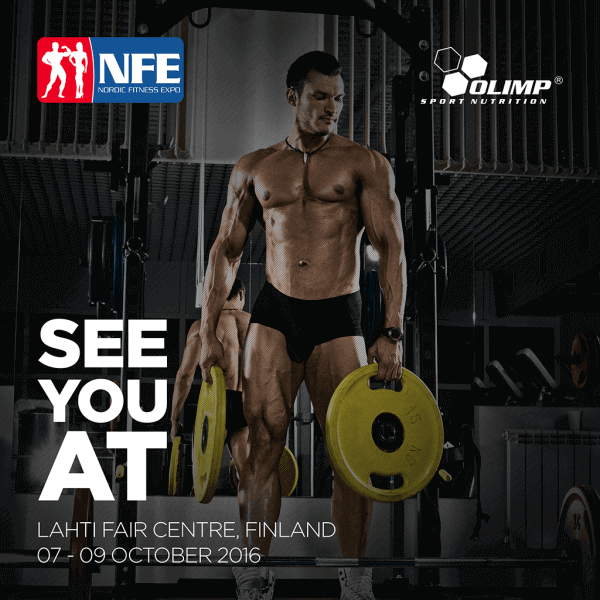 OLIMP at Nordic Fitness Expo 07 OCTOBRE 2016