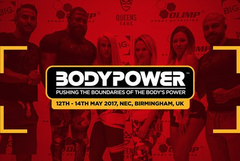 OLIMP AT BODY POWER  BIRMINGHAM 2017