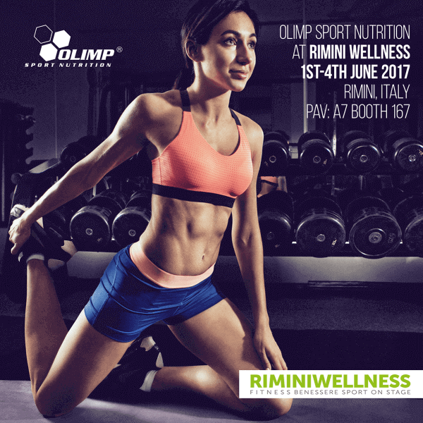 OLIMP SPORT NUTRITION  AT RIMINI WELLNESS 2017