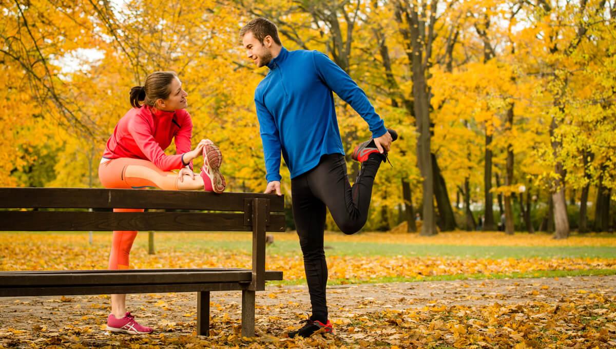 5 pomysłów na jesienny  trening!