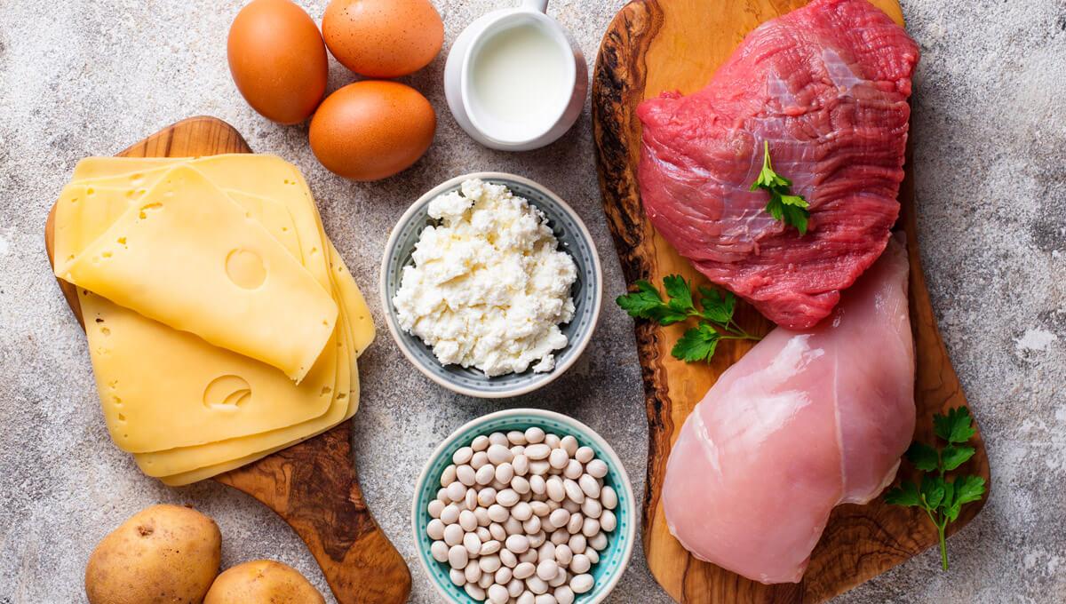 W jakich produktach  zawarte są aminokwasy egzogenne?