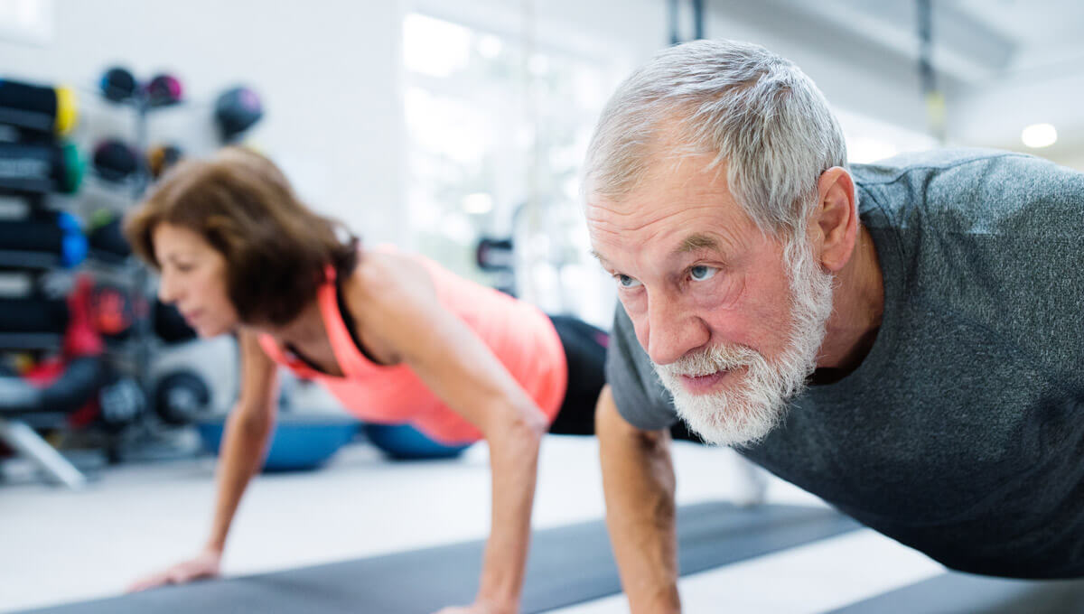 Protein for seniors  - an important part of the daily diet