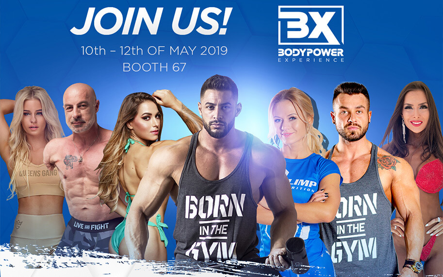 Come and visit us  at BodyPower 2019!