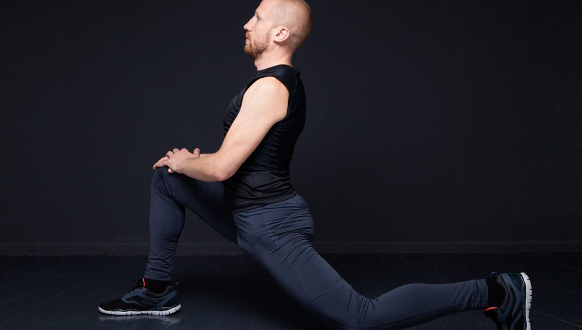 Ćwiczenia rozciągające  mięśnie czworogłowe uda