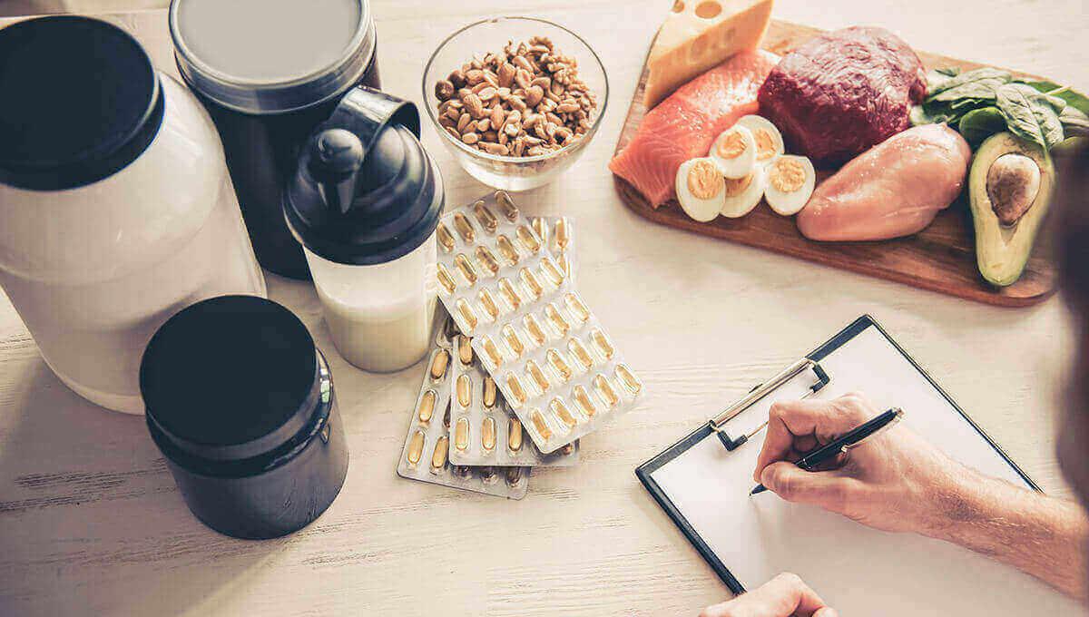 DIETA E INTEGRATORI.  COME COMPLETARE CORRETTAMENTE UNA DIETA.
