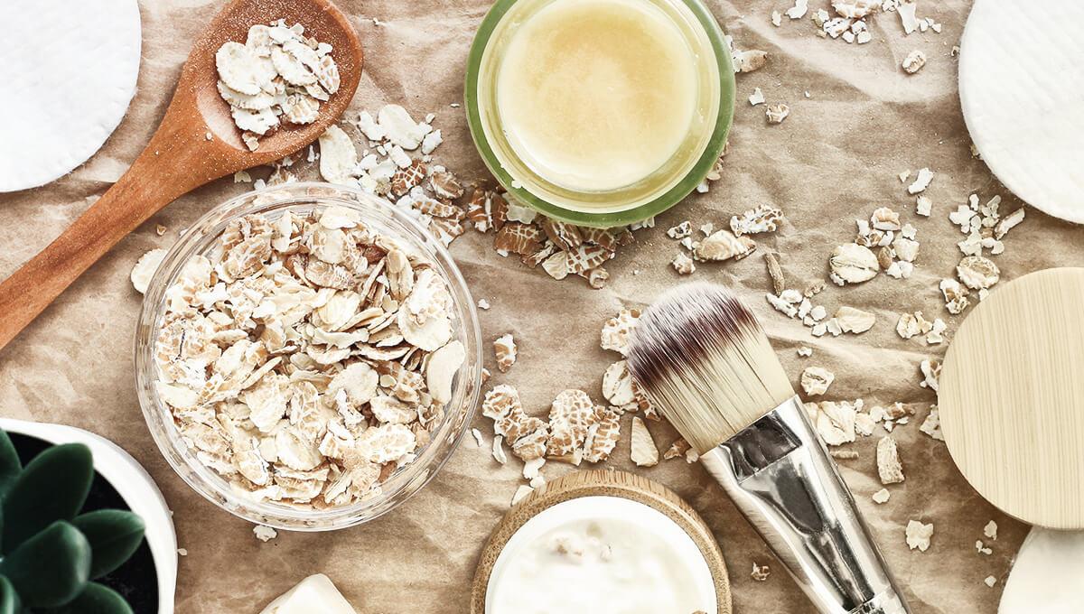 Hausgemachte Produkte zur Verbesserung  der Optik Ihrer Haut, Haare und Nägel