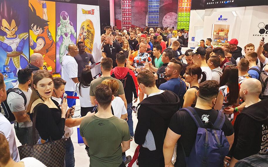 OLIMP SPORT NUTRITION  SE PRÉSENTE EFFICACEMENT AU FIBO 2019!