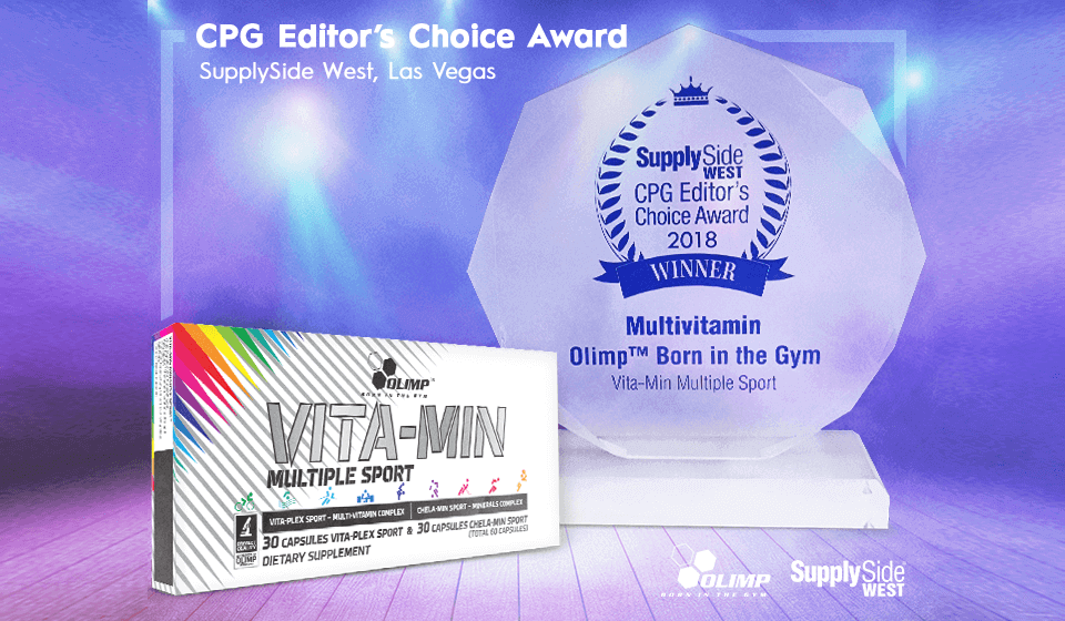 Vita-min Multiple Sport  brings home a prestigious award!