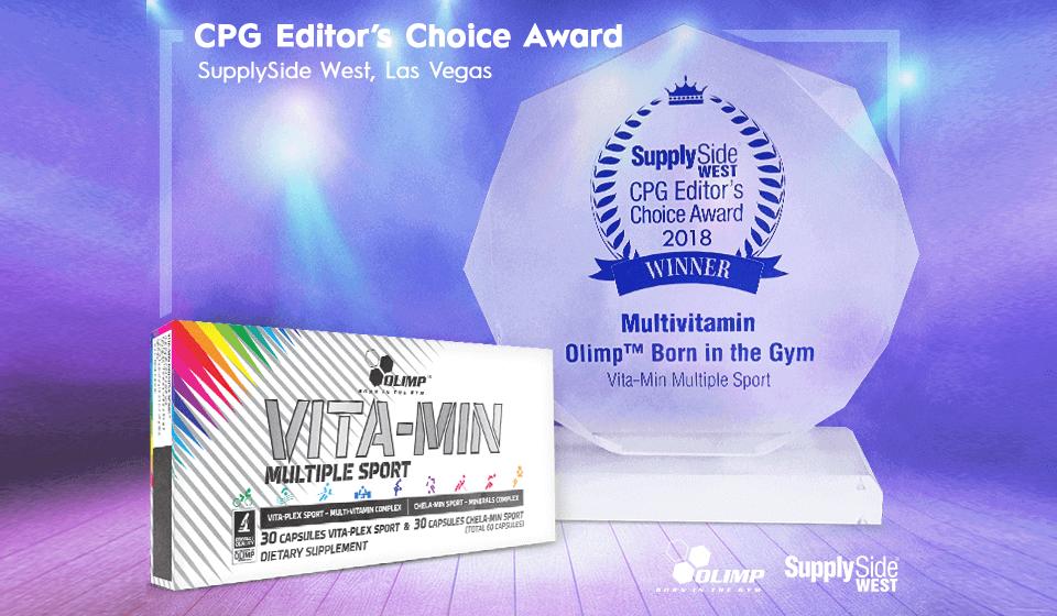 Vita-min Multiple Sport  bringt eine prestigeträchtige Auszeichnung nach Hause!