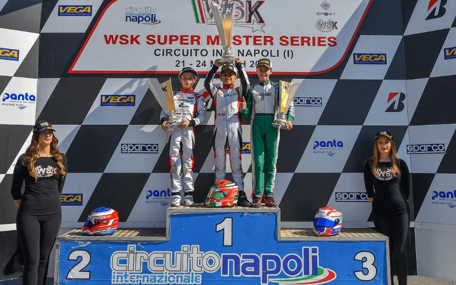 Maciej Gładysz na podium