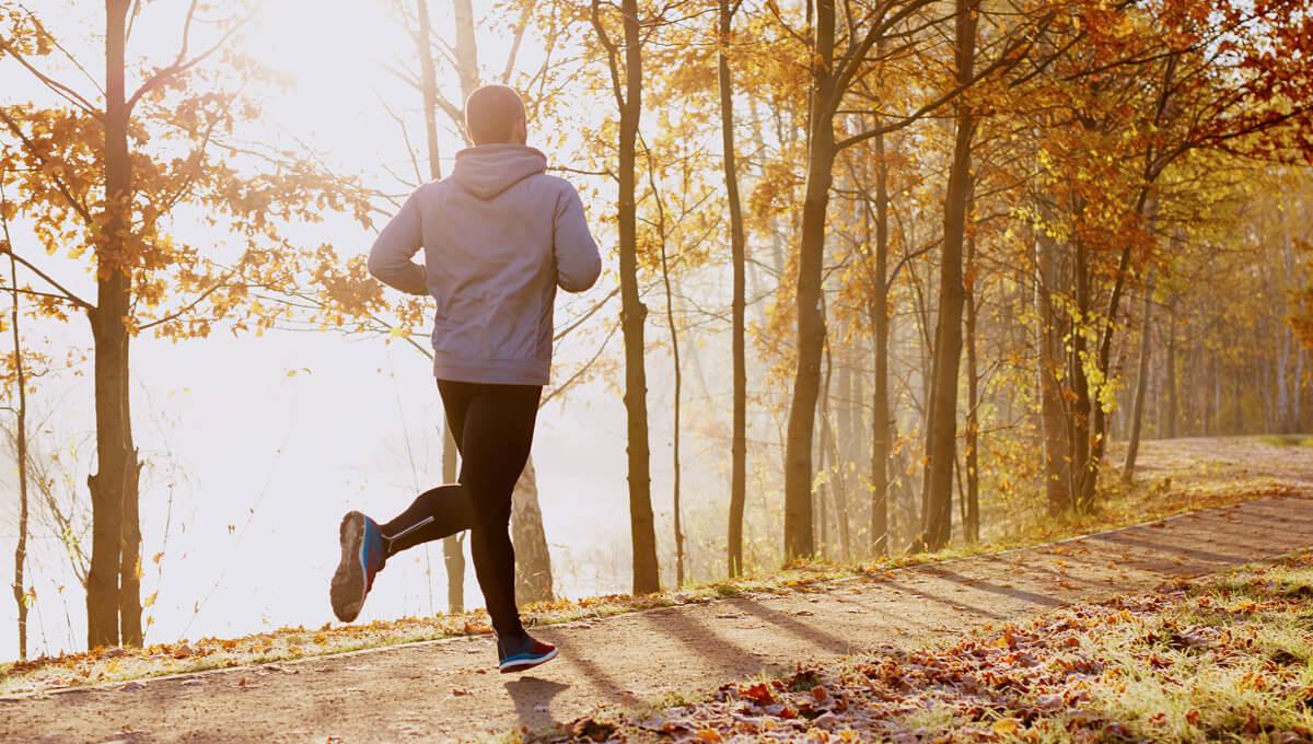 Jak zaplanować trening  jesienią?