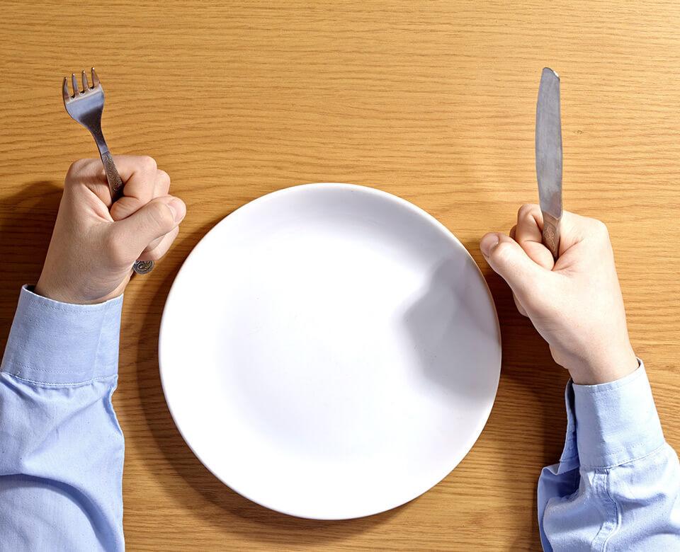 Nie wieder Hunger  in der Diät mit diesen 5 Tipps