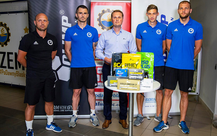 Olimp Sport Nutrition  partnerem technicznym PGE FKS Stal Mielec!