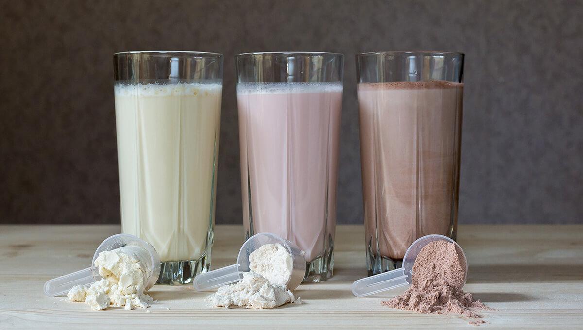 Batidos de proteínas:
